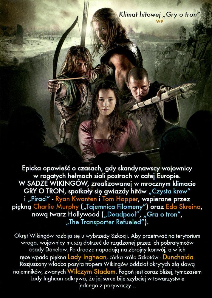 Ulotka filmu 'Saga Wikingów (tył)'