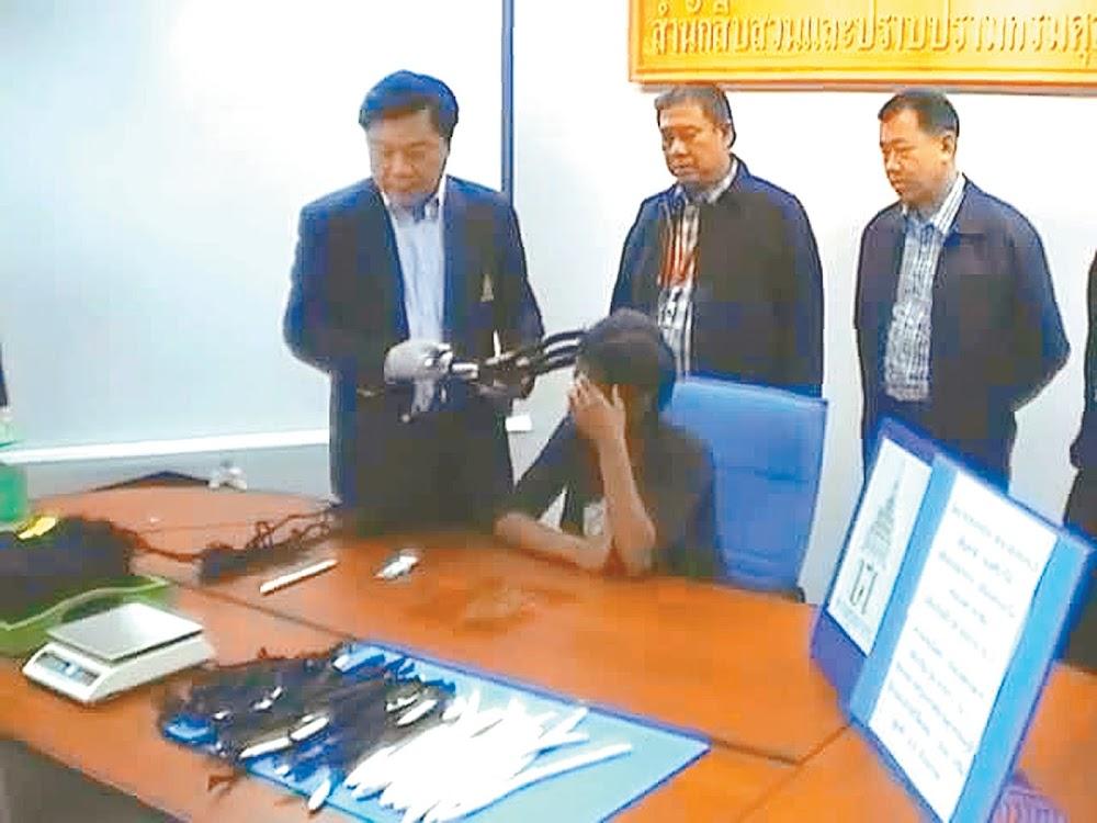 Drugsmuil Babsie Nobanda verdien graad in die Thai-gevangenis - DispatchLIVE