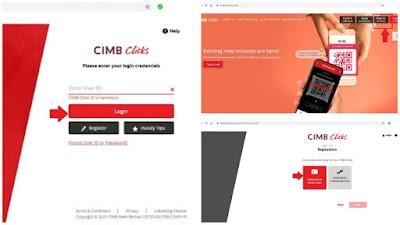 CIMB Clicks: Cara Buka Akaun, Daftar & Aktifkan Online Banking