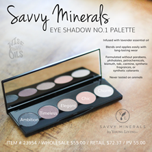Savvy Minerals Eye Shadow Palette Convention 2018 WHO