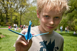 Origami cranes folded on the South Meadow will be sent to Japan as a gesture of support and unity.