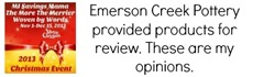 Emerson Creek Pottery Disclosure