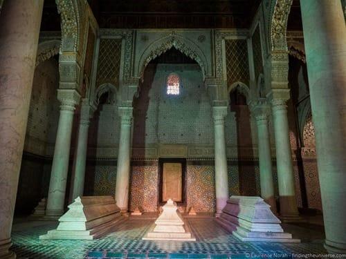 Tomb saadiens marrakech