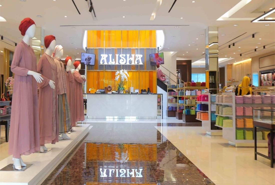 Alisha Fancy Shop Butik Muslimah dan Muslim di Kota Bandung yang Paling Banyak di Cari Pelancong