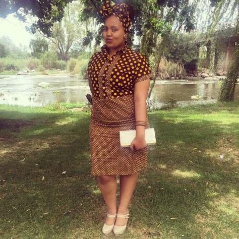 Traditional Shweshwe Dresses 2018 African Traditional Clothing 3