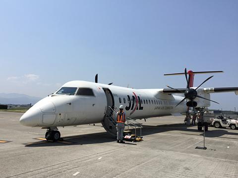 日本エアコミューター JAC3595便