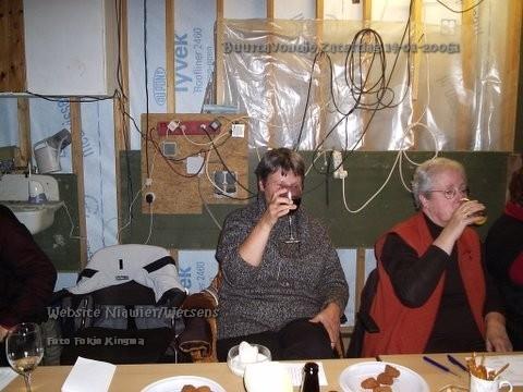 Marie en Sippie aan de zuip