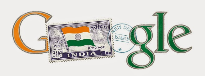 india independence day 2014 google doodle
