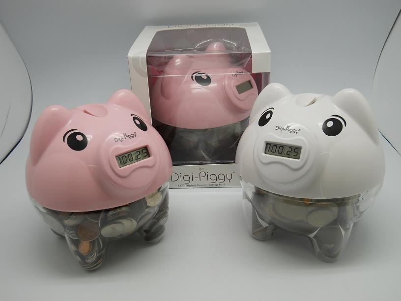 Gift home today digital piggy bank for children for Piggy bank for toddlers