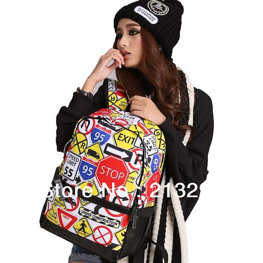 Mochila women fashion backpack/vintage canvas backpack/