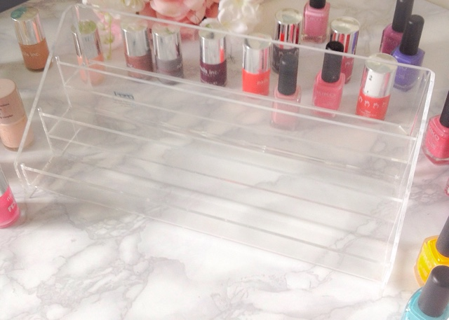 acrylic nail polish storage