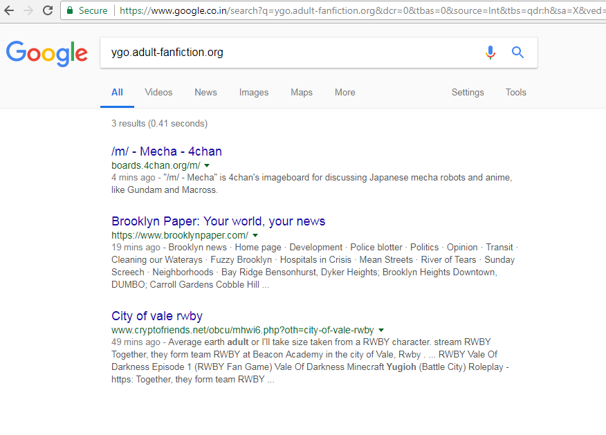 sudden drop of google search result number  - Google Search Help