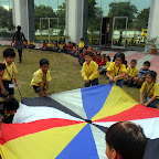 Parachute Play Activity Done by Jr.Kg 12-13