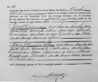 Groeneweg, Jacob en Apon, Maria C. Huwelijksafkonding 11-04-1888 Kralingen.jpg