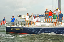 J/122 Patriot American YC junior sailing team