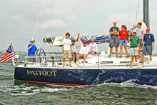 J/122 Patriot American YC junior sailing team