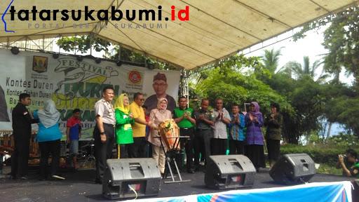 Mengejutkan Vanessa Juarai Festival Duren-Duren di Sukabumi