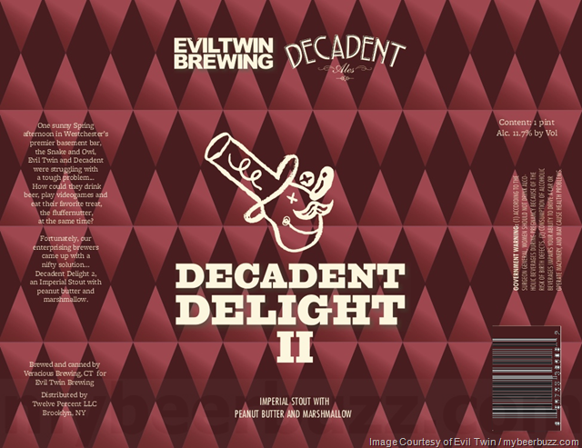 Evil Twin & Decadent Ales Collaborate On Decadent Delight II