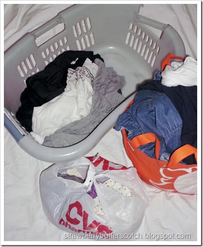 Basket Trick for Easily Organizing