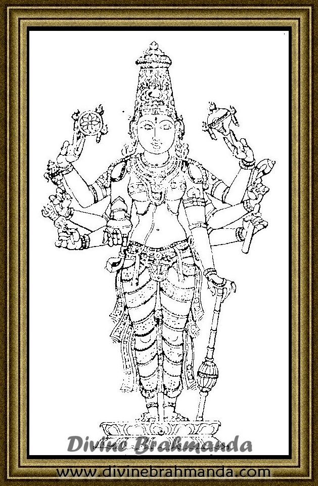 Soundarya Lahari Sloka, Yantra & Goddess For High Social Status - 83