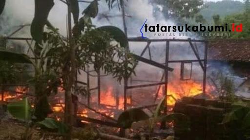 Kebakaran Rumah di Ciemas Sukabumi