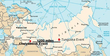 Tunguska-and-ChelyabinskEvents