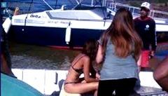 Video mostra Camila Pitanga em desespero após morte de Domingos Montagner-