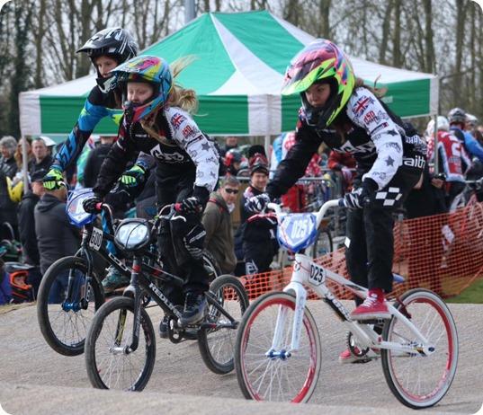 bikers in action at Tipkinder Park