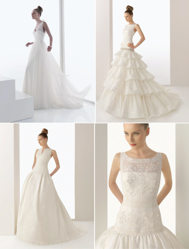 Bridal Fashion} Non-Strapless Wedding Dresses - Belle The Magazine