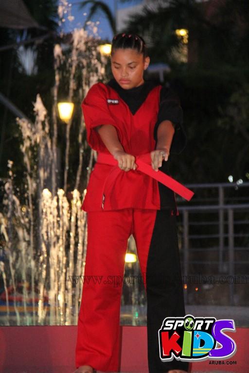 show di nos Reina Infantil di Aruba su carnaval Jaidyleen Tromp den Tang Soo Do - IMG_8631.JPG