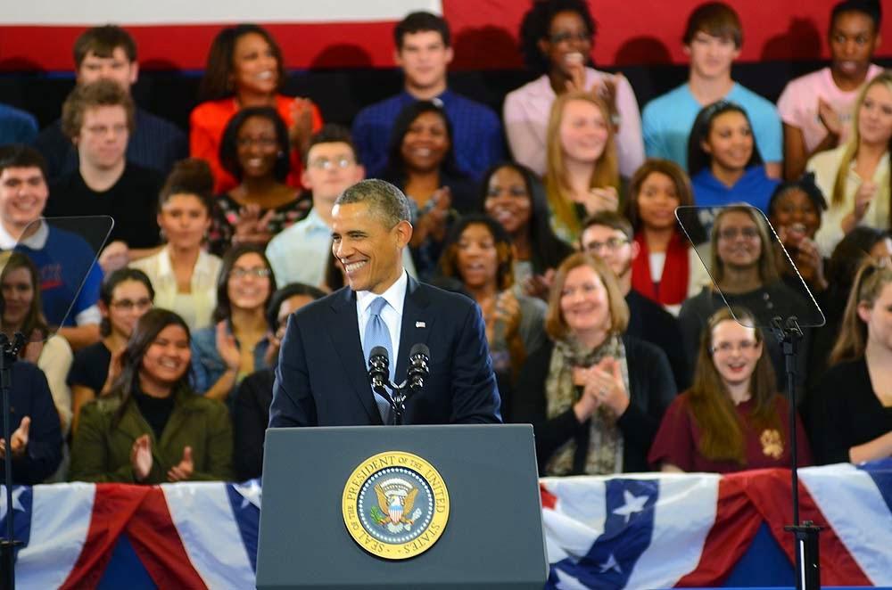 Obama in Nashville 2014