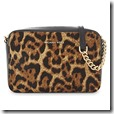 Michael Kors Leopard Calf Hair Cross Body Bag