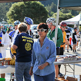 Nona Lucas is a true Rotarian at work