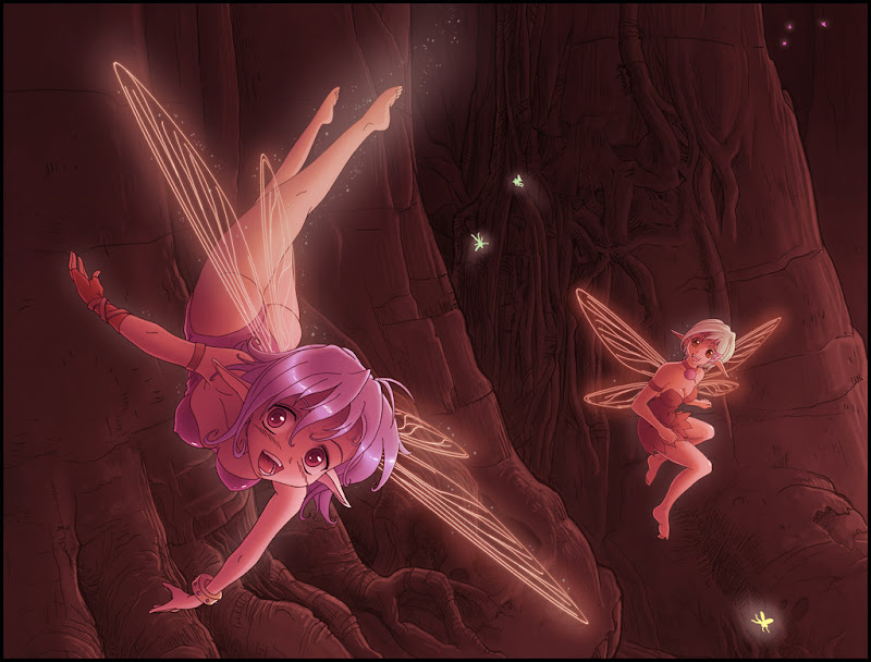 Little Pixie, Fairies Girls 2