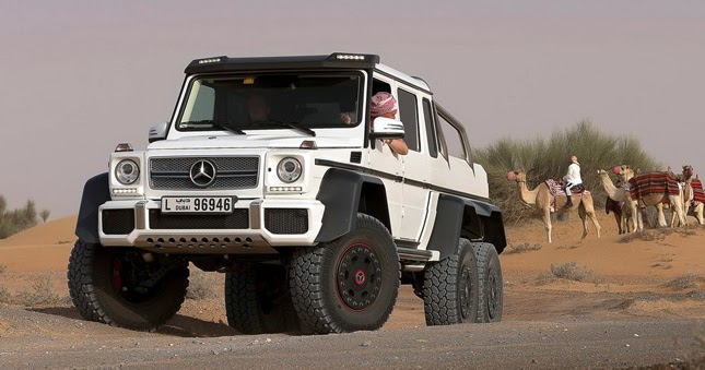 oil kings will love it mercedes benz details the g 63 amg 6x6 pickup in huge gallery. Black Bedroom Furniture Sets. Home Design Ideas