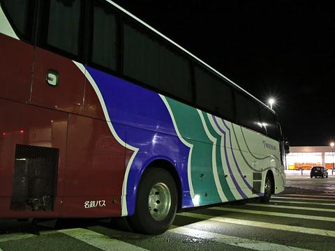 名鉄バス「名古屋~新潟線」 2801 米山サービスエリアにて その3