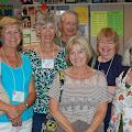 Mary Myers, Glenda Ervin Clemans, Bill Glemans, Gloria Davis, Jean Turner, Julie Aungst