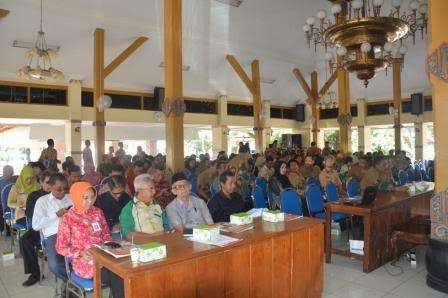 Musrenbang yang dilaksanakan di Pendopo Wedya Graha Kabupaten Ngawi