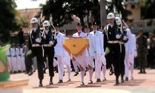 foto pasukan delapan paskibraka