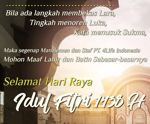 Hari Raya Idul Fitri 4Life