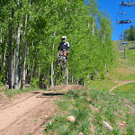 Downhillin Telluride, Colorado