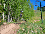 Downhillin Telluride, Colorado
