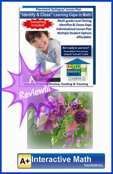 Adaptive Placement Test with Individualized Lesson Plan ~ A review by Tess at Circling Through This Life
