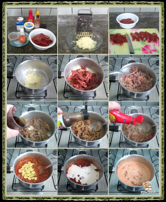 Strogonoff de Carne 2