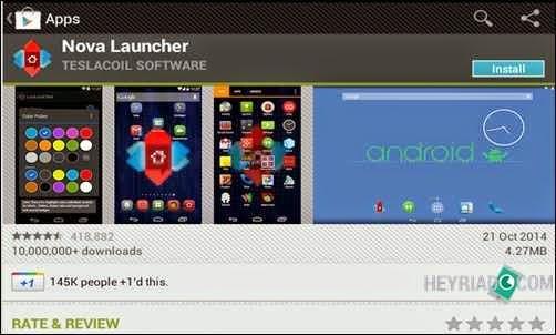 Siapa yang tidak mau memakai Smartphone dan Tablet Android yang mempunyai tampilan men 4 Cara Merubah Tampilan Android Tanpa Root