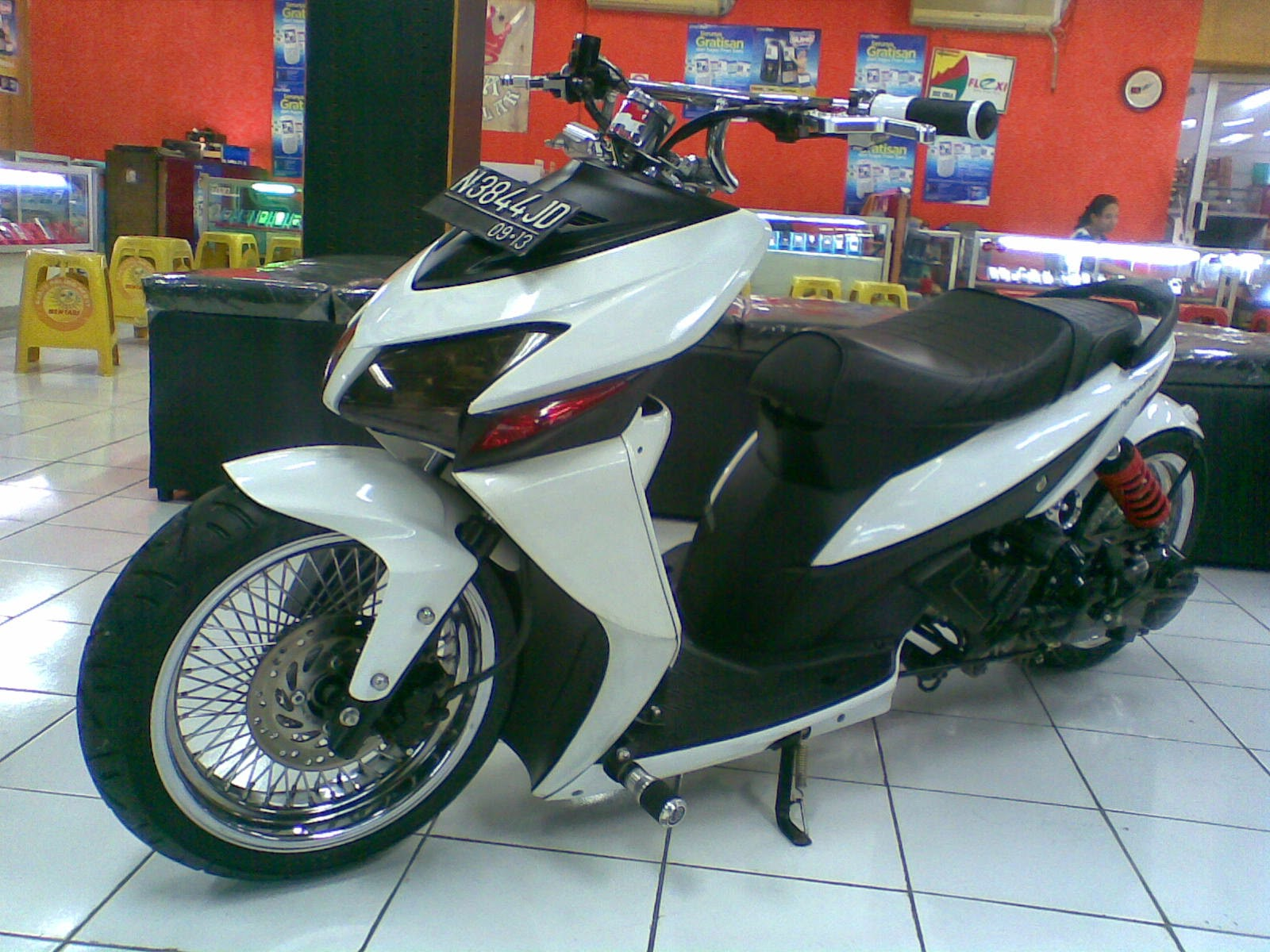 Vario Modifikasi Touring