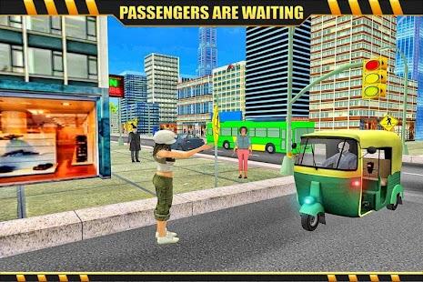 Tuk Tuk Rickshaw Rush Drive 3D - náhled
