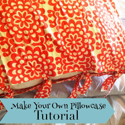Pillow sham tutorial, the style sisters