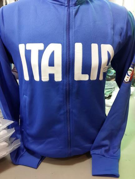 Jaket Italia Full Biru Terbaru 2014
