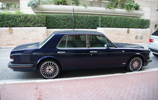 Bentley Turbo R clear indicators clear lens